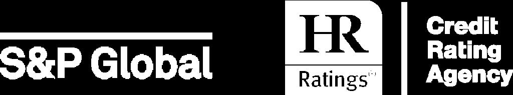 Logos S&P Global y HR Ratings